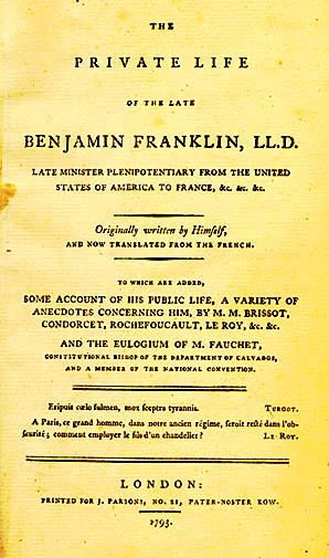 benjamin franklins autobiography virtues Benjamin franklin virtue essay in the autobiography, benjamin franklin recounts the many paramount experiences throughout his life that shaped him into great.